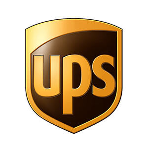 UPS shipping integration logo
