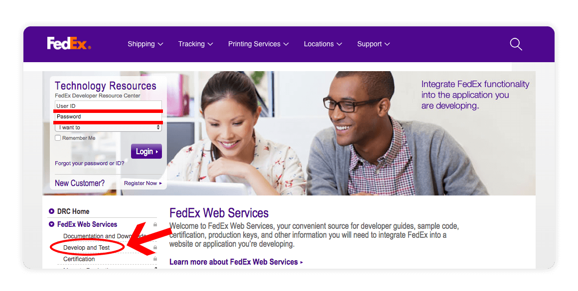 Fedex Web Services Develop and Test - multiorders integrations guide