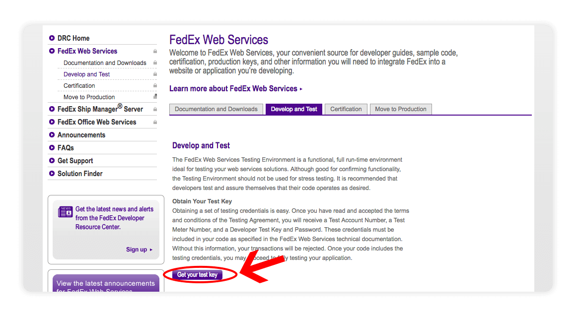 Fedex Web Services - multiorders integrations guide