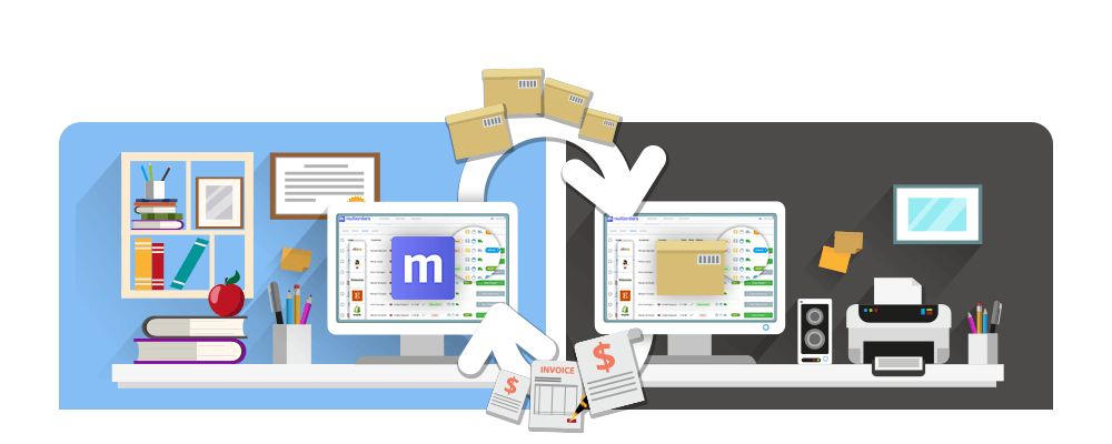 Multiorders-drop-shipping-order-management