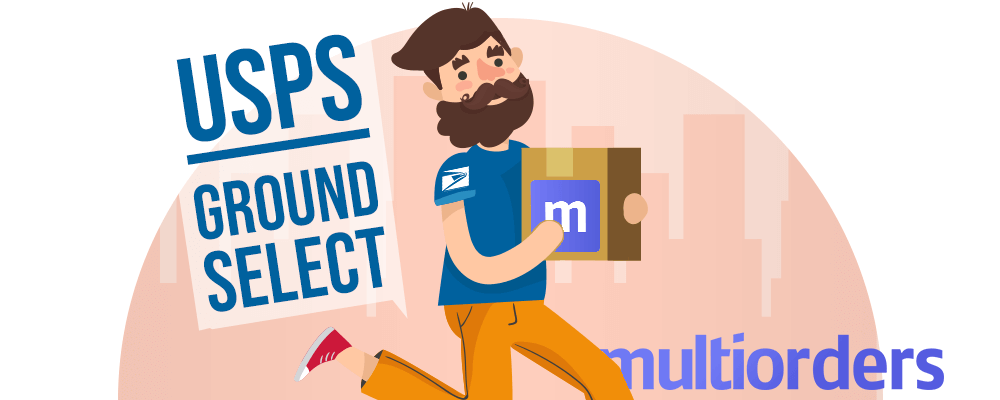 multiorders & usps parcel select ground