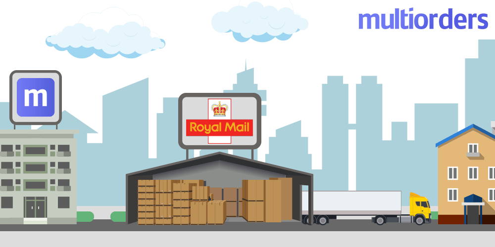 Best way to manage royal mail shipments Multiorders