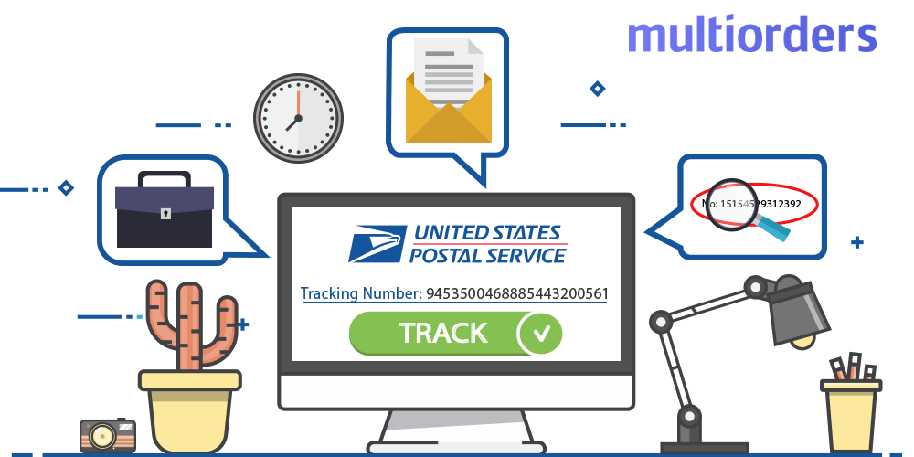 How Does USPS Tracking Number Looks Like Multiorders