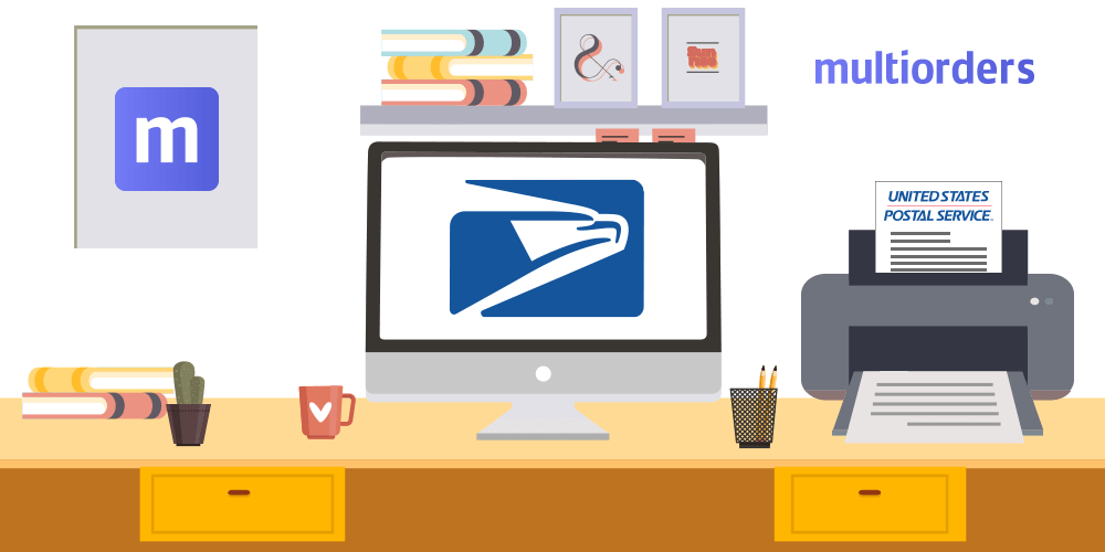 How To Print USPS Shipping Labels Online With Multiorders