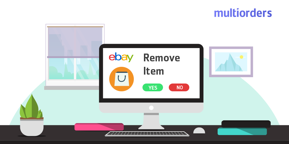 How To Remove An Item From eBay Multiorders
