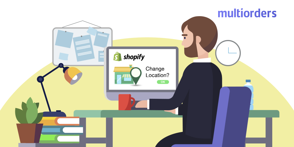 How To Change Shopify Store Address Multiorders