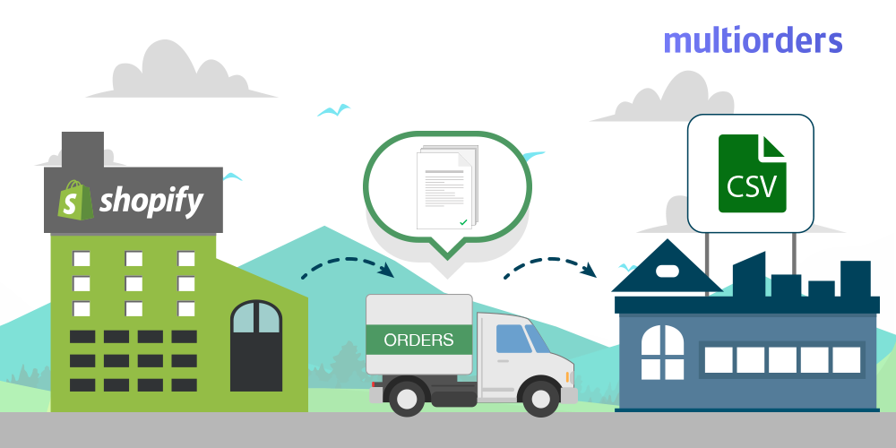 How To Export Shopify Orders As CSV Multiorders