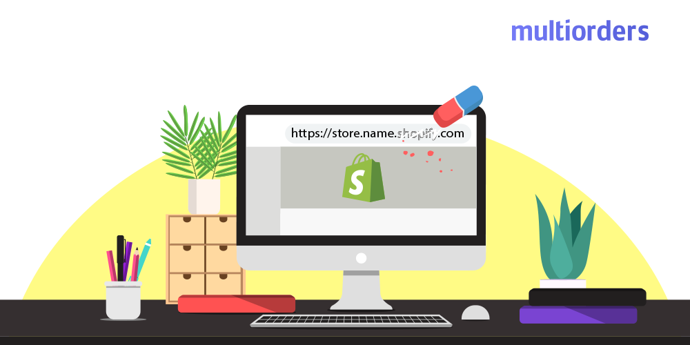 How To Remove Shopify From URL Multiorders