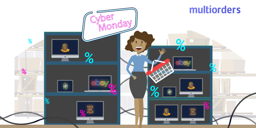 Determining inventory levels on shopping holidays
