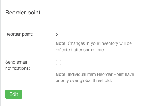Set Global Reorder Point Screenshot Multiorders
