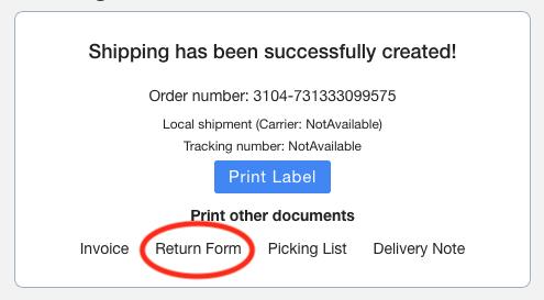Print Return Form Neutral Screenshot Multiorders